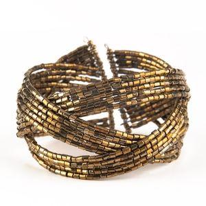 Brass bracelet paparazzi